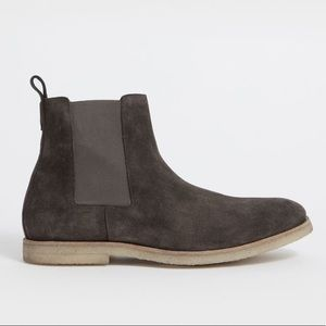 All Saints Charcoal Reiner Chelsea Boot